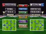 Sega Worldwide Soccer '97 Windows Pause/start game screen