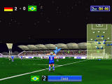 Sega Worldwide Soccer '97 Windows A throw-in