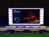 Sega Worldwide Soccer '97 Windows After a match or some goals, a small animated clip appears