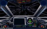Star Wars: X-Wing DOS Entering hyperspace.