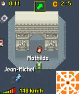 Midtown Madness 3 Mobile J2ME MotorolaV3 Ingame (you will be able to see the 'Arc de triomphe' in some levels)