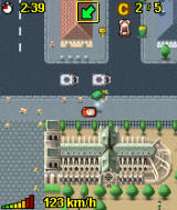 Midtown Madness 3 Mobile J2ME MotorolaV3 Ingame (now you can see the 'Notre dame de Paris')