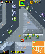Midtown Madness 3 Mobile J2ME MotorolaV3 Ingame (some shortcuts are possible)