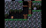 Rick Dangerous 2 Atari ST Level 3 - The forests of Vegetablia.