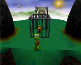 Croc: Legend of the Gobbos Windows Find a key to open this cage.