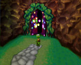 Croc: Legend of the Gobbos Windows There are five colored diamonds on every level. Find'em all to gain access to bonus stage.