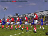 The F.A. Premier League Stars 2001 Windows Players entering the field