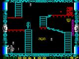 Super Robin Hood ZX Spectrum Moved across the ledge onto another screen