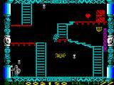 Super Robin Hood ZX Spectrum Jumping (well, falling really)