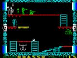 Super Robin Hood ZX Spectrum Moving platforms come into play here
