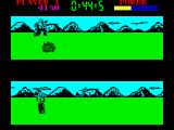 Raw Recruit ZX Spectrum Cross Country - jump over an obstacle