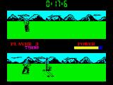 Raw Recruit ZX Spectrum Cross Country - near the end of this course