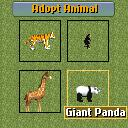 Zoo Tycoon 2 Mobile J2ME Use this screen to select the animal to put in your exhibit (Nokia 7210 version)
