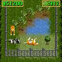 Zoo Tycoon 2 Mobile J2ME Add more and more animals to the same exhibit but do not mix them without logic, they would fight and kill each other (Nokia 7210 version)