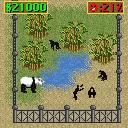 Zoo Tycoon 2 Mobile J2ME The animals are unhappy, a panda with Chimps, you prepare a good fight session (Nokia 7210 version)