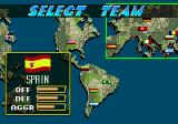 Pelé II: World Tournament Soccer Genesis Only the World Cup 94 teams are available - good job I'm part Irish