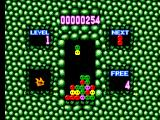 Dr. Robotnik's Mean Bean Machine SEGA Master System Training mode; note Carbunkle in the middle