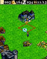 Age of Empires II Mobile J2ME It is real time strategy, not turn by turn. University proposes a lot of upgrades (Sony Ericsson K700 version)