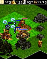 Age of Empires II Mobile J2ME When in the middle of the enemy camp, destroy them all. The fog will not help you (Sony Ericsson K700 version)