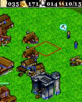 Age of Empires II Mobile J2ME Build a castle to create the stronger unit of the game the conqueror (Sony Ericsson K700 version)