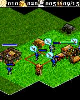 Age of Empires II Mobile J2ME Destroy the townhall of your enemy to win the game (Sony Ericsson K700 version)