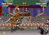 Mortal Kombat Trilogy Windows You have access to all known warriors in Mortal Kombat Trilogy, even bosses like Motaro.