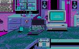 Ghostbusters II DOS in the lab - CGA