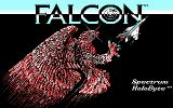 Falcon DOS Title screen (CGA)