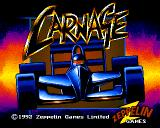 Carnage Amiga Title screen