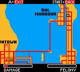 Driver Game Boy Color Map