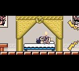 Wario Land II Game Boy Color Our hero sleeps uncomfortably as the clock rings