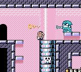 Wario Land II Game Boy Color Spear Wizard can shrink Wario down
