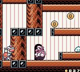 Wario Land II Game Boy Color Cakers likes to feed Wario with cakes which will make Wario temporarily fat