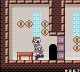 Wario Land II Game Boy Color These blocks can only be broken if you throw an enemy at it