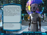 Space Rangers 2: Dominators Windows Alien adviser gives you details about current situation in the universe.