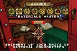 Sea Trader: Rise of Taipan Game Boy Advance The Medals Screen