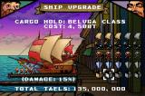 Sea Trader: Rise of Taipan Game Boy Advance Upgrade your ship at the Shipyard