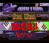 Pinball Dreams SNES Main menu / board selection.