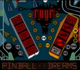 Pinball Dreams SNES Nightmare board overview.