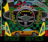 Pinball Fantasies SNES Speed Devils board overview.