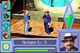The Sims 2 Game Boy Advance The new communication screen