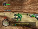 The Incredible Hulk: Ultimate Destruction GameCube Grab All objects, including people