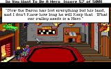 Hero's Quest: So You Want To Be A Hero DOS Talking to Wolfgang Abenteuer, the Guild Master