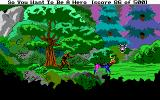 Hero's Quest: So You Want To Be A Hero DOS Turned into a stag by the dryad. That's your punishment for hurting a creature of the forest