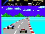 World Grand Prix SEGA Master System Attempting a drive-by.