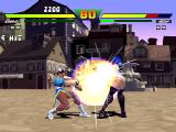 Street Fighter EX Plus α PlayStation Taking advantage of her Super Combo Kikou Shou, Chun-Li quickly connects a combo of 4 hits in Blair.