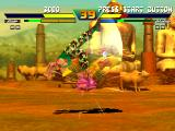 Street Fighter EX Plus Alpha PlayStation Guile makes Dhalsim to reach new heights with the stunning impact of his feet-based move Flash Kick!