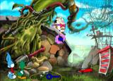 Tiny Toon Adventures: The Great Beanstalk PlayStation Every time you find a clue, you will receive a piece of the key.