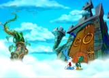 Tiny Toon Adventures: The Great Beanstalk PlayStation Using the first key to enter the castle