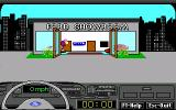 Ford Simulator III DOS Leaving car showroom.